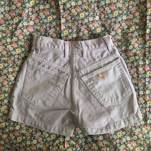 Vintage Lavender Guess Shorts